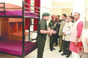 Garhwal Rifles War Memorial hostel opened