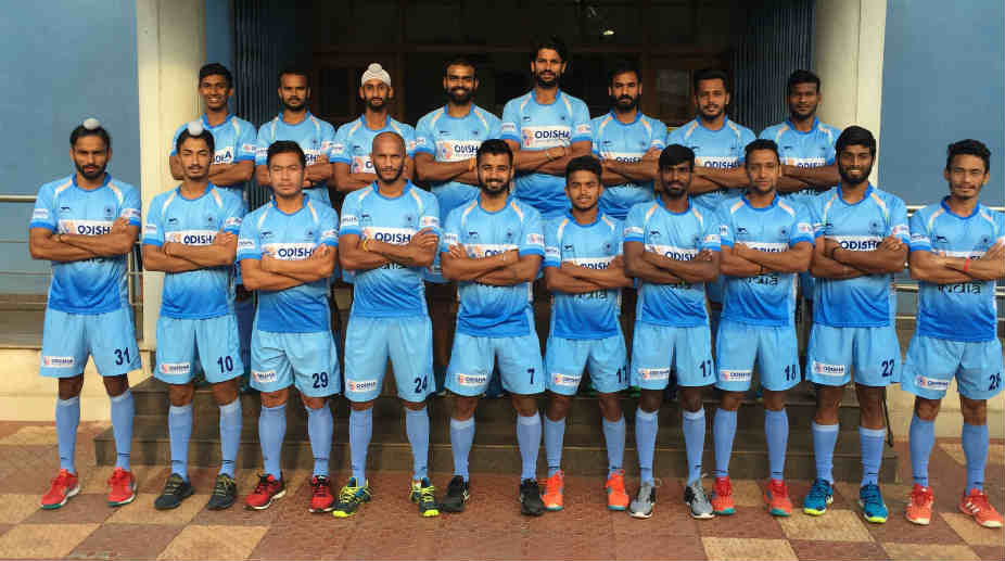 Indian Men's Hockey Team for CWG 2018