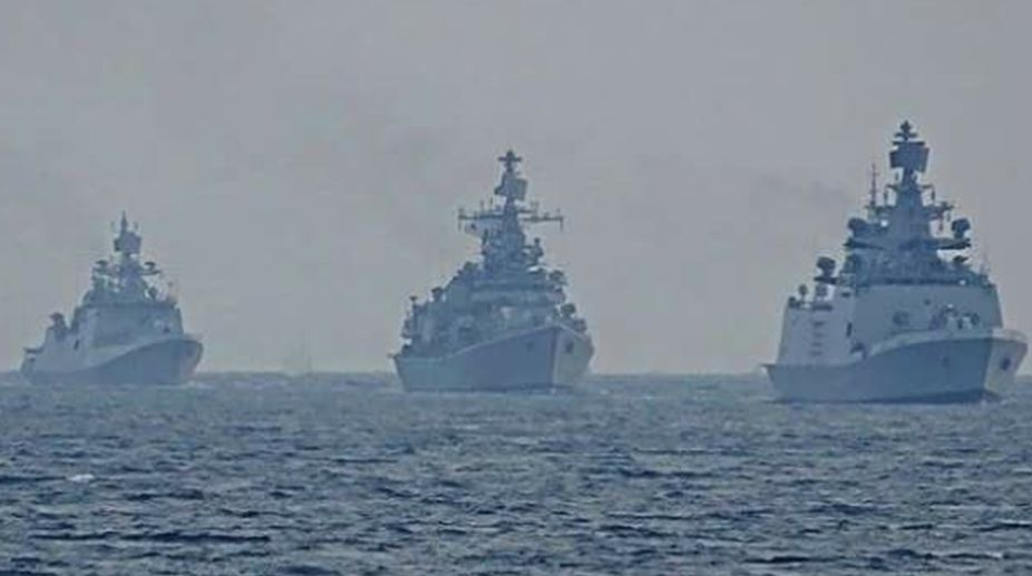 Indian Navy, war game, Coast Guard, Two-front war