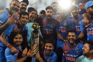 In Pictures: Rohit Sharma led India win Nidahas Trophy final