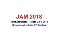 IIT Bombay to announce JAM 2018 results online at jam.iitb.ac.in | Check now