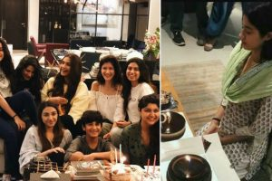 Janhvi Kapoor celebrates birthday at orphanage