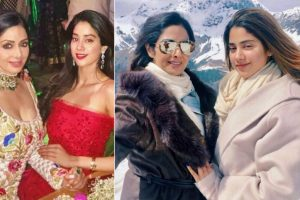 Look what Sridevi told Janhvi Kapoor after watching a clip of Dhadak
