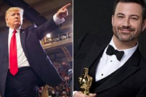 Jimmy Kimmel, Donald Trump's 'lowest-rated' Oscars spat