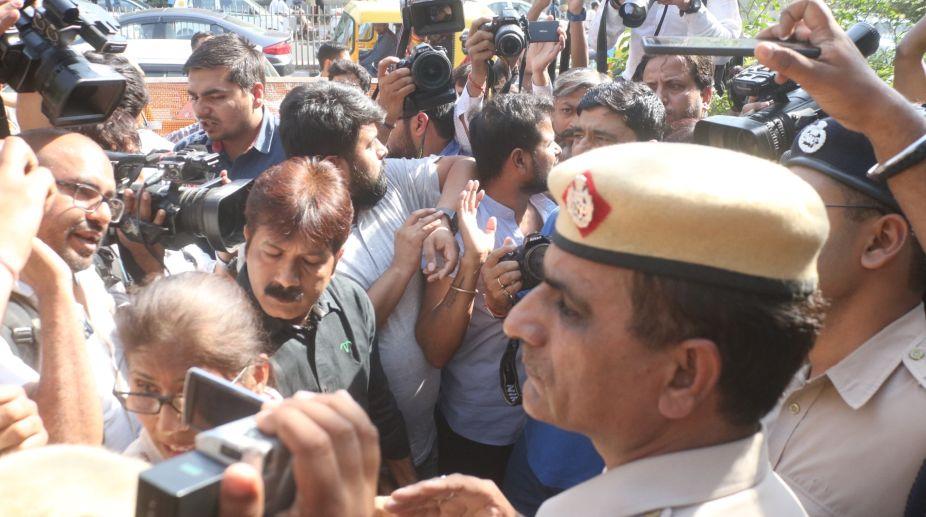 Delhi Police, Journalists, Protest, JNU