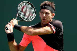 Miami Open: Juan Martin del Potro, Milos Raonic advance