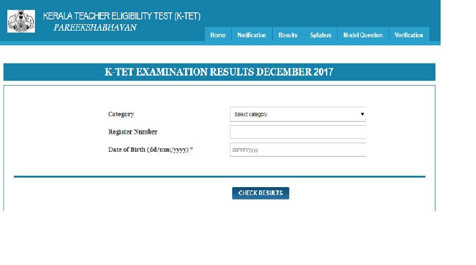 Kerala, KTET results 2017, Kerala TET results 2017, keralapareekshabhavan.in, ktet.kerala.gov.in