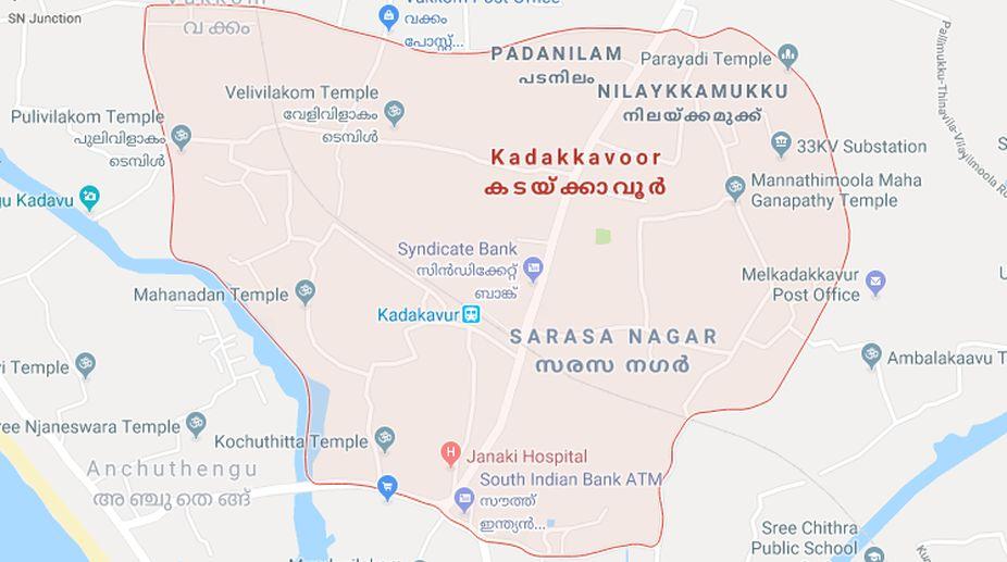 Kadakkavoor, Kerala, Google map