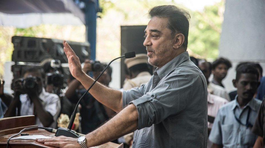 Kamal Haasan of Makkal Needhi Maiam