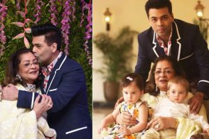 In Pics: Karan Johar hosts a birthday bash for mom Hiroo Johar