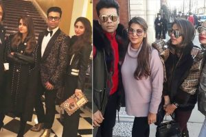 BFFs Kareena Kapoor, Karan Johar chill out in London