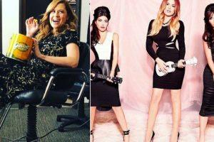 Jenna Fischer of 'The Office' bumps into the Kardashians; channalises her inner Kourtney