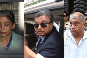 INX Media: CBI grills Karti, Indrani inside Mumbai jail