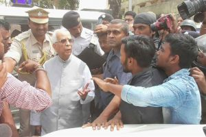 WB Governor visits clash-hit areas, urges people to maintain peace and harmony