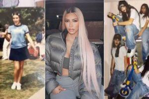 Kim Kardashian unveils never-before-seen pictures of the Kardashian clan