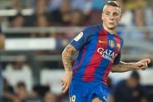 Barcelona's Lucas Digne out for 3 weeks with injury