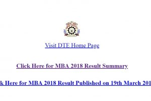 DTE declared Maharashtra MBA CET results 2018 online at dtemaharashtra.gov.in | Check now