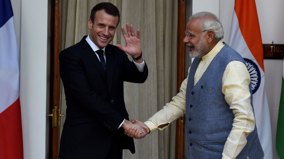 France-India trade, France-India ties, France-India relations, Indian business, French President, Emmanuel Macron