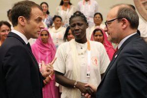 Macron announces additional 700 million euros for solar energy