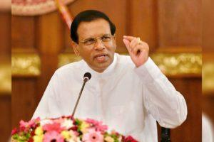 Sri Lankan President Maithripala Sirisena appoints new ministers