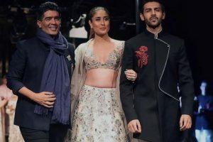 Kareena Kapoor Khan, Kartik Aayan set ramp on fire at Manish Malhotra show