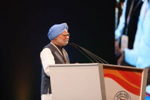 Democracy in danger: Manmohan Singh