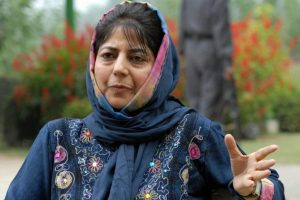 J-K CM Mufti visits LoC village to condole victims