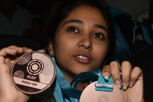I want to break a senior shooting world record now: Mehuli Ghosh