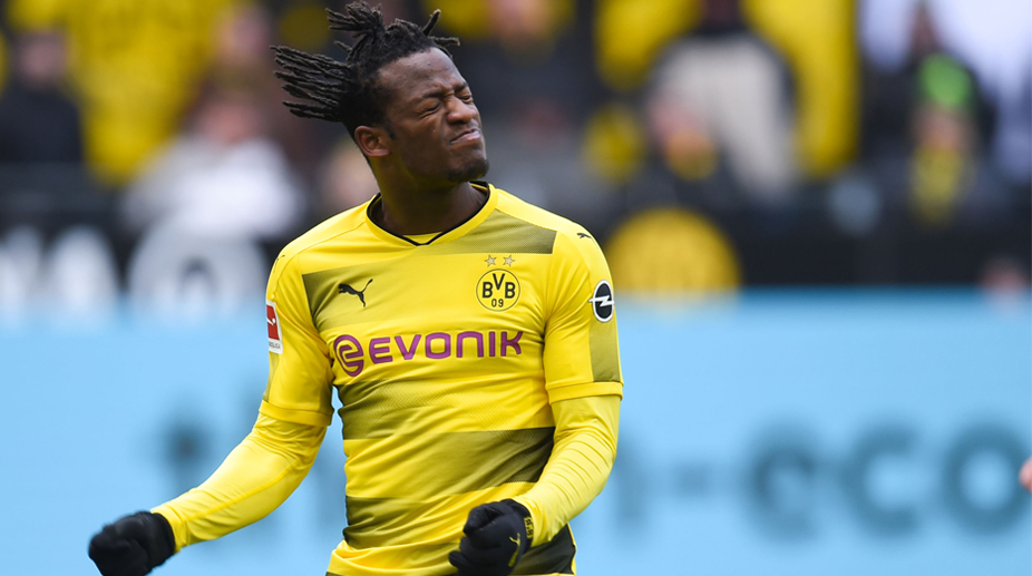 Batshuayi scores brilliant acrobatic goal at Dortmund