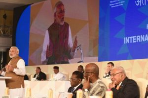 PM Modi presents 10-point action plan to promote solar energy