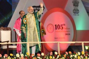 PM Modi inaugurates 105th Indian Science Congress in Manipur