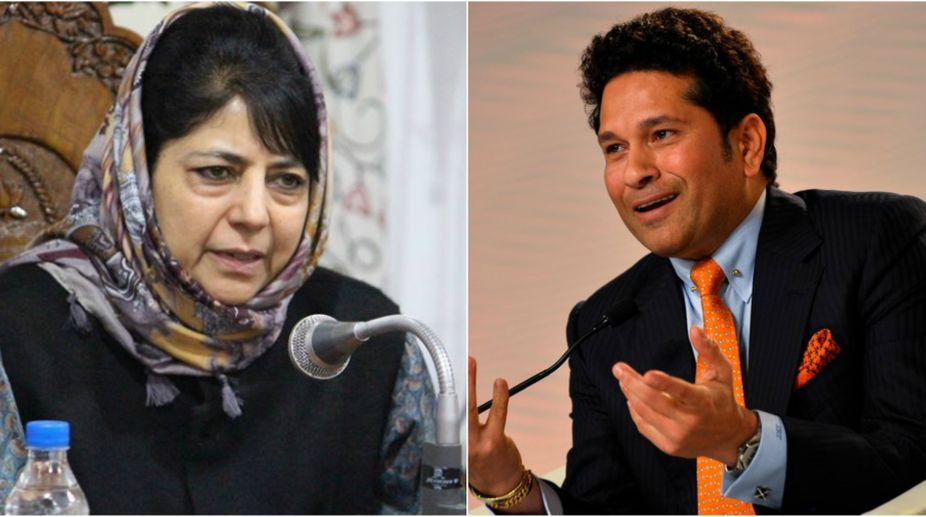 Got no proposal from J&K CM on holding talks with Pak