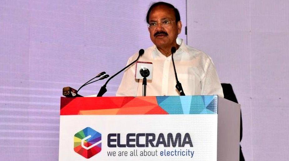 Vice President of India, M Venkaiah Naidu, ELECRAMA 2018
