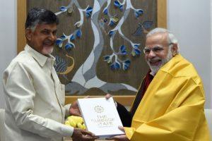 PM Modi speaks to Chandrababu Naidu after TDP exits NDA govt