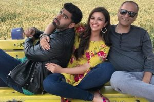 Parineeti Chopra, Arjun Kapoor chilling on sets of 'Namastey England'