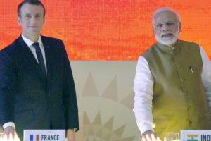 PM Modi, Macron make joint push for solar energy
