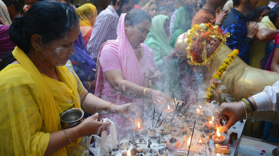 Religion, Devotees, Prayers, Navratras