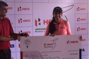 Neha Tripathi chalks out record breaking 14-shot win in Hero WPG Tour