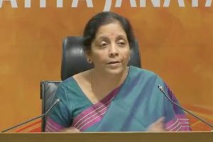 Congress cannot preach values, ideology: Nirmala Sitaraman
