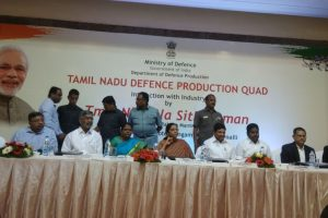 Tamil Nadu defence corridor: Sitharaman addresses def stakeholders in Trichy