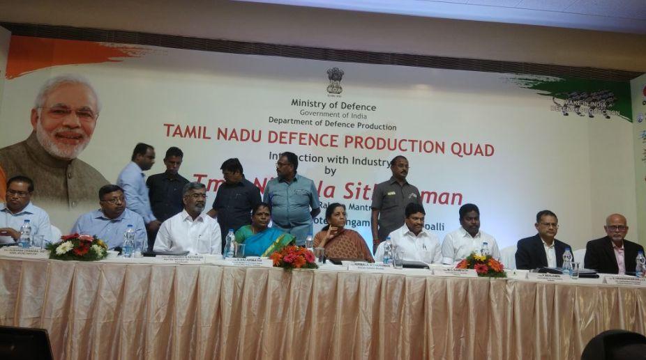 Nirmala Sitharaman speaks at Tamil Nadu Defence Corridor