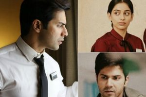 Varun Dhawan takes time out for 'October' song launch