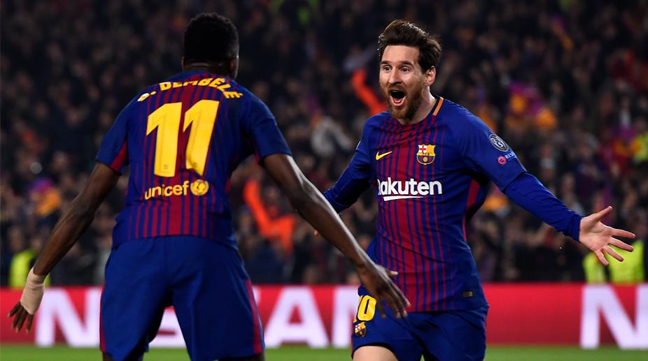 UEFA Champions League, Chelsea F.C., F.C. Barcelona, Barcelona vs Chelsea, Lionel Messi, Ousmane Dembele