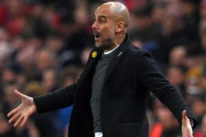 Pep Guardiola downplays hopes of clinching Premier League title in Manchester Derby
