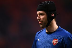 Arsenal players react to Petr Cech's milestone of 200 Premier League clean-sheets