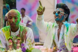 Pharrell Williams 'enjoyed' Holi bash, Twitterati disagree