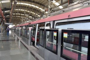 Delhi Metro trial for another section of Pink Line