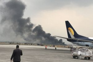Plane with 71 on board crashes at Kathmandu airport; fatalities feared