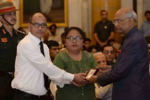 President confers gallantry awards, three honoured with Kirti Chakra