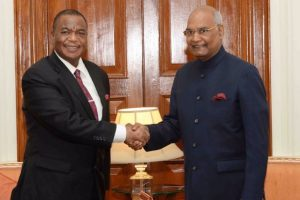 India desires to intensify engagement with Zimbabwe: President Kovind